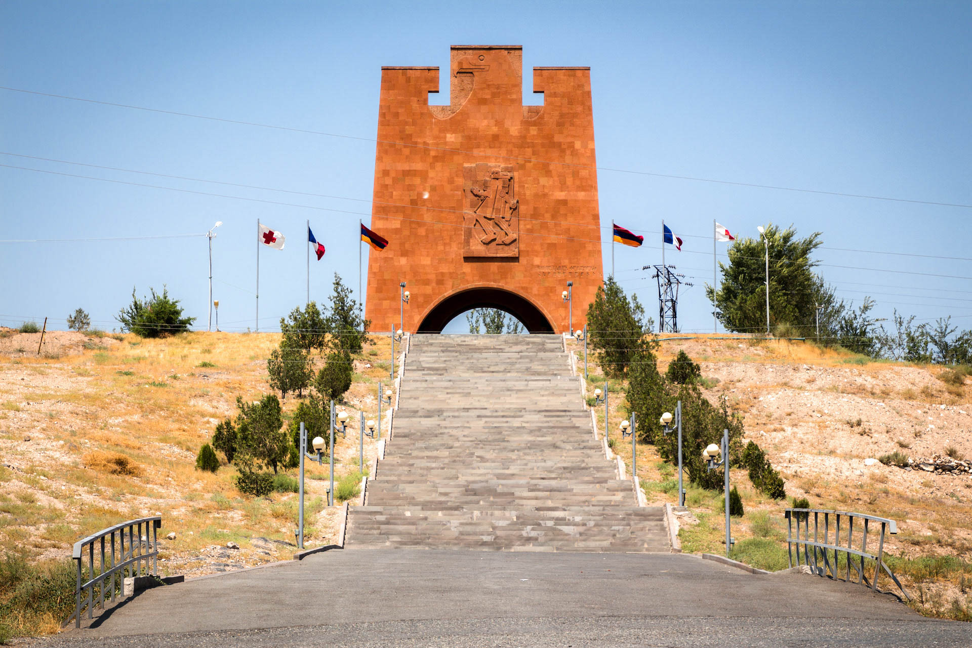 Monument to the Heroic Battle of Musa Dagh - Monumentalism